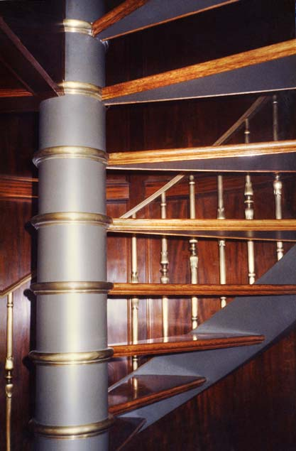 Spiral Stair Center Column (detail)