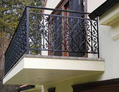 Mediterranean Villa Balcony Amp Railings Post Road Iron Works