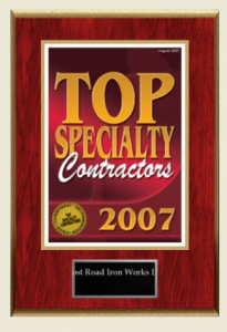 Top Specialty Contractors 2007 [won]